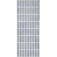Evona Cement Effect Stone Effect Mosaic Ceramic Wall Tile  Pack of 11  (L)200mm (W)500mm