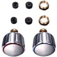 Zinc alloy Full turn tap gland  Set of 2