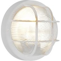 Blooma Thetis White Mains Powered External Wall Light
