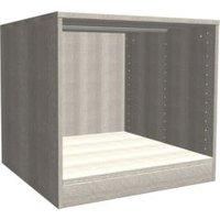 Darwin Modular Grey Oak Effect Bedside Cabinet (H)546mm (W)500mm (D)566mm