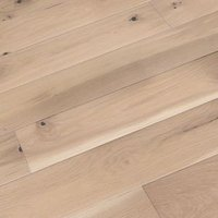 Colours Bredene cream Oak effect Wood Top layer flooring sample Sample