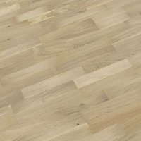 B&Q White Oak effect Real wood top layer flooring Sample