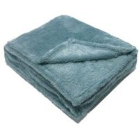 Katya Duck egg Fleece Throw