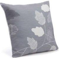 Centola Leaves Grey Cushion