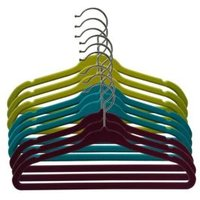 B&Q Flocked childrens clothes hangars Pack of 8