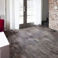 Grey Slate effect Luxury vinyl click flooring  Sample