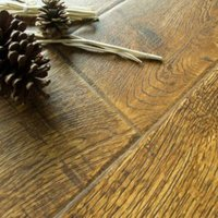 Alseno Natural Vintage oak effect Laminate flooring Sample