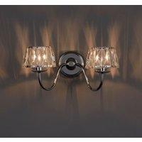 Waldor Chrome Effect Single Wall Light