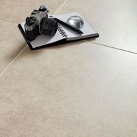 Bianco Cement Inspired Design Porcelain Floor Tile  Pack of 5  (L)450mm (W)450mm