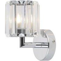Pereti Chrome effect Bathroom wall light