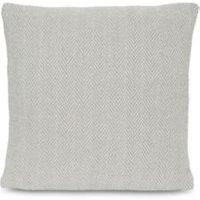Herringbone Chenille Grey Cushion