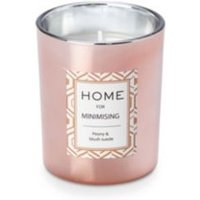 Ultimate Glam Peony & Blush Suede Candle