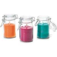 Glass jar Citronella Candle Medium