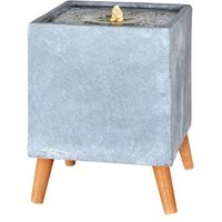 Outdoor Living UK Contemporary square Water feature
