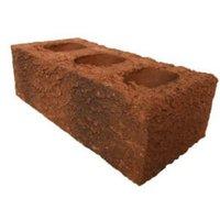 Wienerberger Bordeaux Peak Facing brick (L)215mm (W)102.5mm (H)65mm Pack of 400