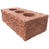Raeburn Red Rustic Facing brick (L)215mm (W)102.5mm (H)65mm