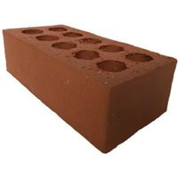 Wienerberger Smooth Red Engineering brick (L)215mm (W)102.5mm (H)65mm