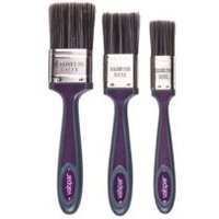 Valspar Soft tipped Paint brush (W)1 1.5 2  Pack of 3