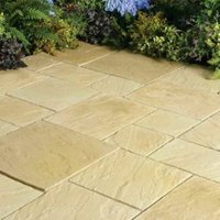 York Gold Abbey Mixed Size Paving Pack  5.76 m²