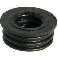 Floplast Ring Seal Soil Boss Adaptor (Dia)50mm  Black