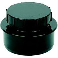 Floplast Ring Seal Soil Access Cap (Dia)110mm  Black