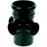 Floplast Ring Seal Soil Boss Pipe (Dia)110mm  Black