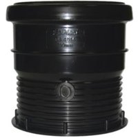 Floplast Ring Seal Soil Coupling (Dia)110mm  Black