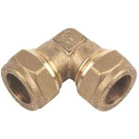 Plumbsure Compression Elbow (Dia)15mm  Pack of 10