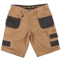 DeWalt Heritage Brown Shorts W32 L10