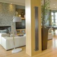Lynix Vertical Radiator Brushed (H)1500 mm (W)380 mm