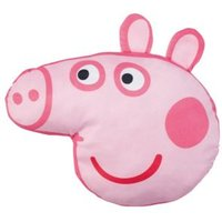 Peppa Pig Head Pink Cushion