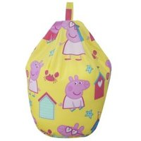 Peppa Pig Pink & Yellow Bean Bag