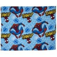 Marvel Blue & Red Spiderman Fleece Blanket