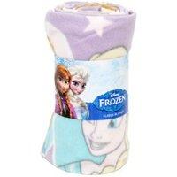 Disney Frozen Multicolour Anna & Elsa Fleece Blanket