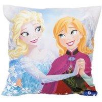 Disney Frozen Anna & Elsa Light Blue Cushion