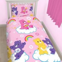 Care Bears Reversible Multicolour Single Duvet Set