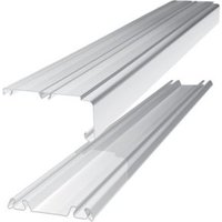 Shaker Sliding wardrobe door track (L)2692mm