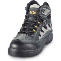 Site Granite Grey Trainer boot  Size 8