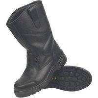 Site Gravel Black Rigger boots  Size 7