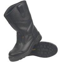 Site Gravel Black Rigger boots  Size 9