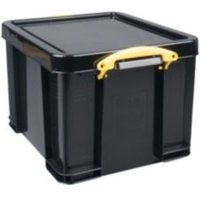 Really Useful Extra Strong Black 35L Plastic Storage Box