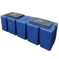Polytank 114L Water storage tank (L)1200mm (W)380mm (H)420mm.