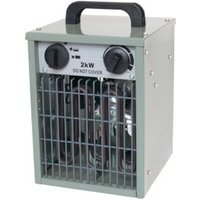 Apollo 2KW Grey Electric Greenhouse heater