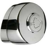 Metal Round Newel Cap (L)63mm (W)63mm