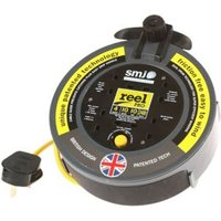 SMJ 4 socket Cable reel 10m