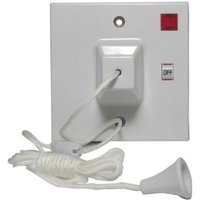 Propower 45A 2-Way White Pull Switch