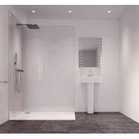 Splashwall Star Dust Single Shower Panel (L)2420mm (W)585mm (T)11mm