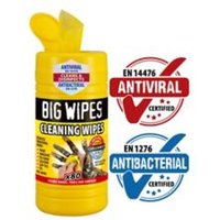 Big Wipes Unscented Cleaning wipes Pack of 80