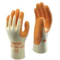 Showa Builders Grip Gloves  Large  Pair