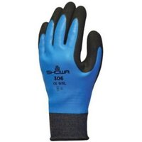 Showa Water Resistant Full Finger Gloves  Extra Large  Pair